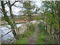 SP2185 : Stone bridge by the ford, River Blythe by Robin Stott