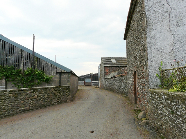 Road from Dundraw to Kelsick