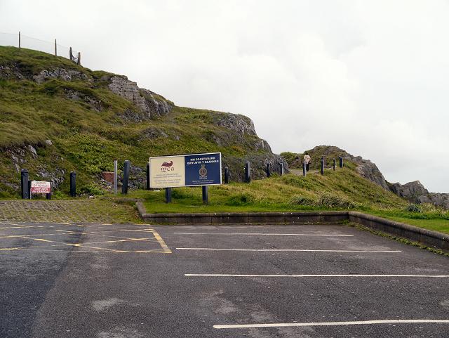 Car Park and Path to Mumbles Coastguard Station