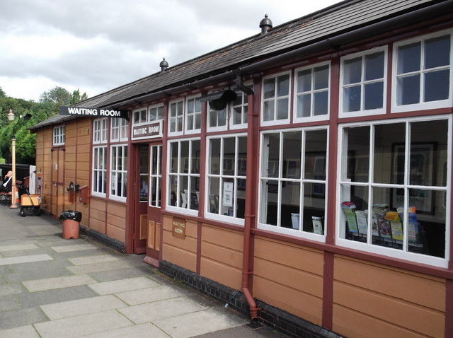 Waiting room, Bishops Lydeard station
