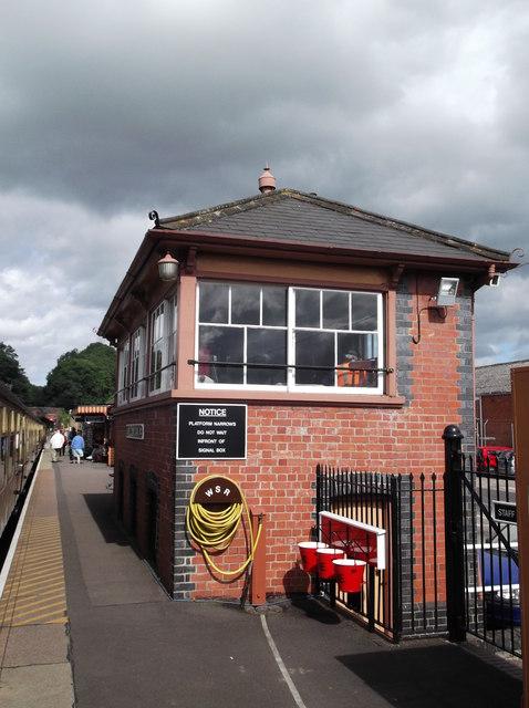 Signal box, Bishops Lydeard station
