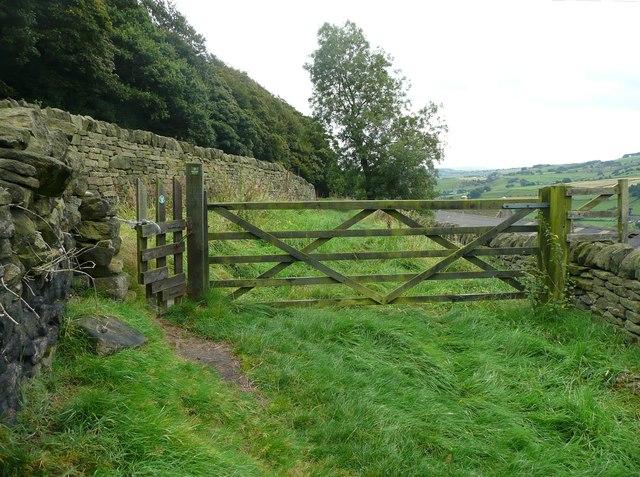 Gates on Stony Lane