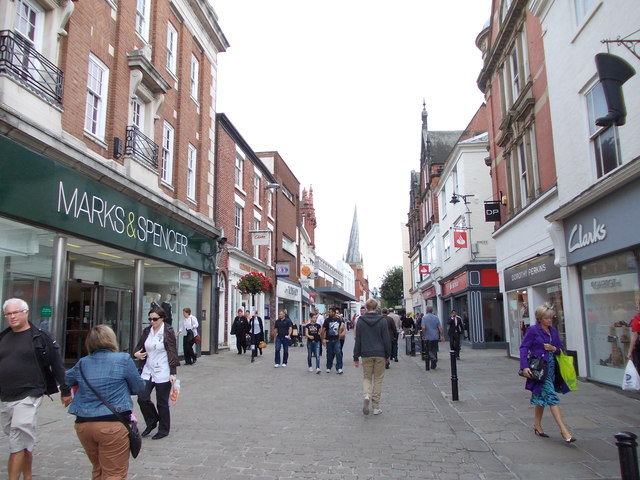 High Street - viewed from Market Place