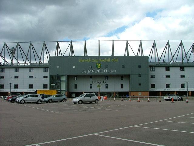 Carrow Road Football Stadium