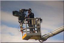 TQ2258 : Epsom Televised by Carl Ayling
