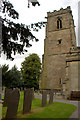 SK3706 : Tower of St Peter's Church, Shackerstone, Leicestershire by Christine Matthews