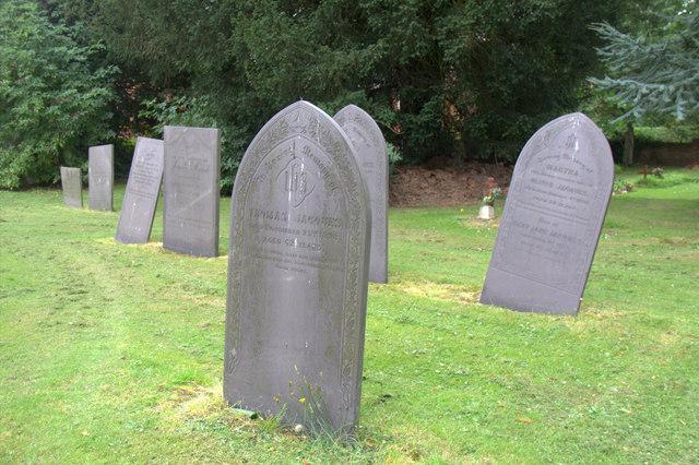 Slate Gravestones, St Peter's Church, Shackerstone, Leicestershire