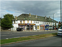 TQ1373 : Parade of shops, Nelson Road by Robin Webster