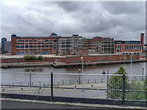 SJ8196 : The Soapworks, Salford Quays by David Dixon