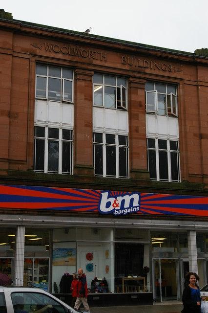 Carlisle: former Woolworths, English Street