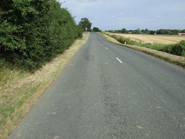 Road towards Swineshead