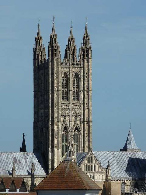 Canterbury Cathedral - central tower