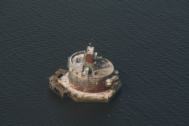 Haile Sand Fort  (aerial)
