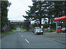 SP0838 : Station Road at disused railway bridge by Colin Pyle