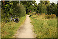 SK5937 : Grantham Canal towpath by Richard Croft