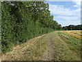 TL0758 : Bridleway towards Crowhill Farm by JThomas