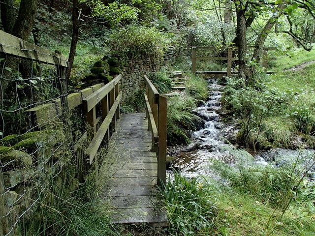 Footbridges, Highlow Brook