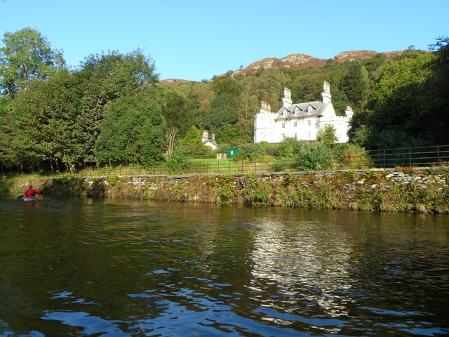 Croft Lodge from the River Brathay - Clappersgate