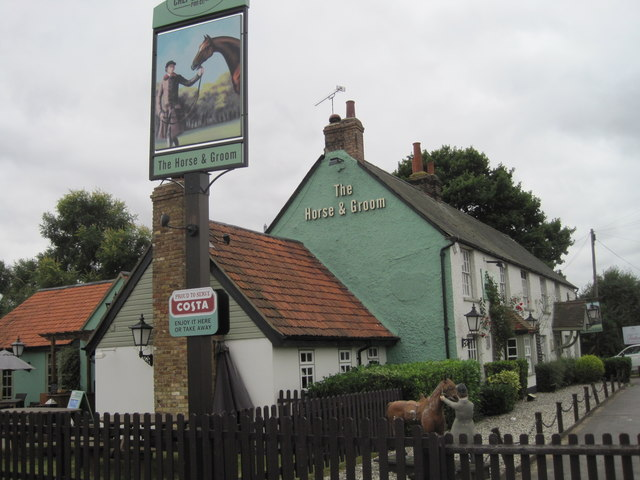 Horse  and Groom Pub, Roxwell Road
