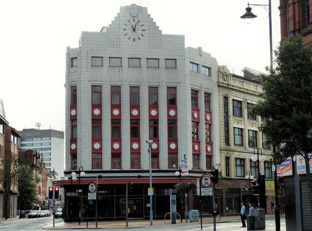 "Former ""Sinclair's"" department store, Belfast"