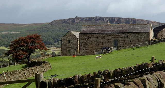 Tor Farm and Derwent valley view