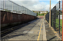 J3374 : Samuel Street site, Belfast (3) by Albert Bridge