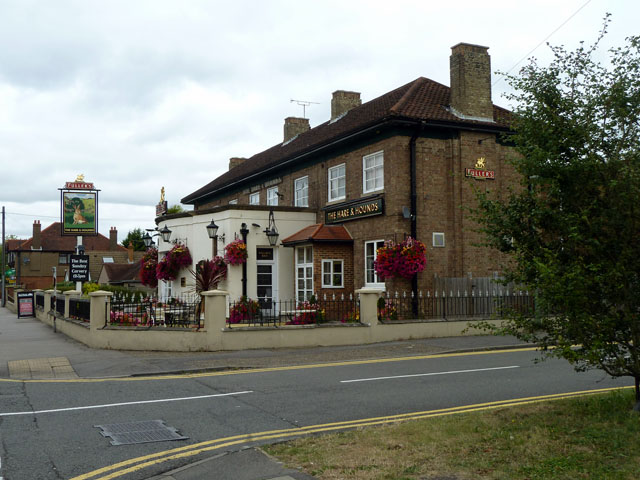 The Hare and Hounds, Vicarage Road