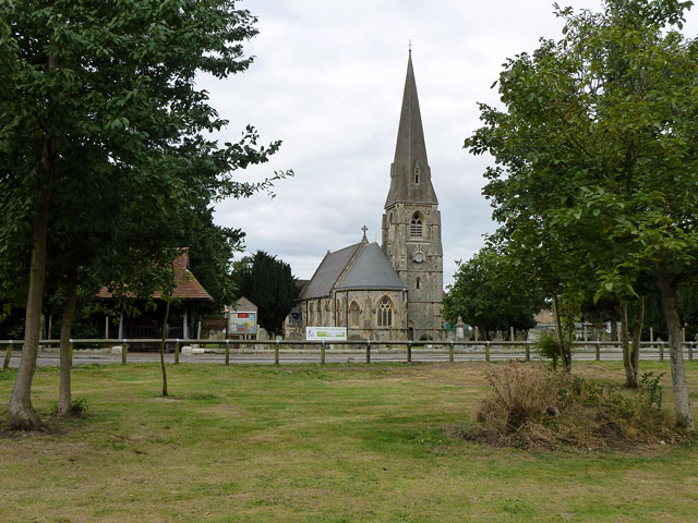Hanworth church