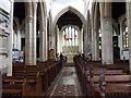 TF0207 : St John's Church - Nave & Chancel by Betty Longbottom