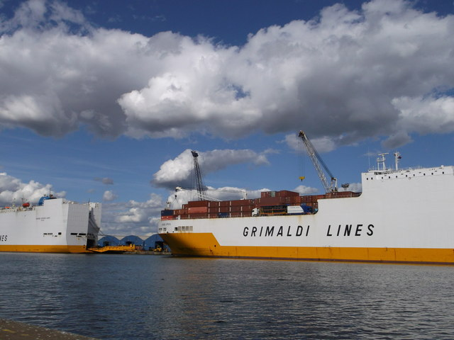 Grimaldi Lines ships, Tilbury Docks