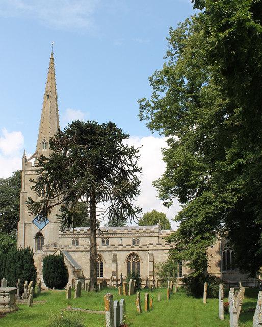St Michael & All Angels' church, Uffington