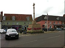 TG0738 : War Memorial, Holt by Dave Fergusson