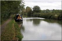 SP8828 : Grand Union Canal near Stoke Hammond by Philip Jeffrey