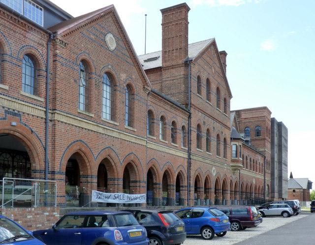 Northgate Brewery buildings