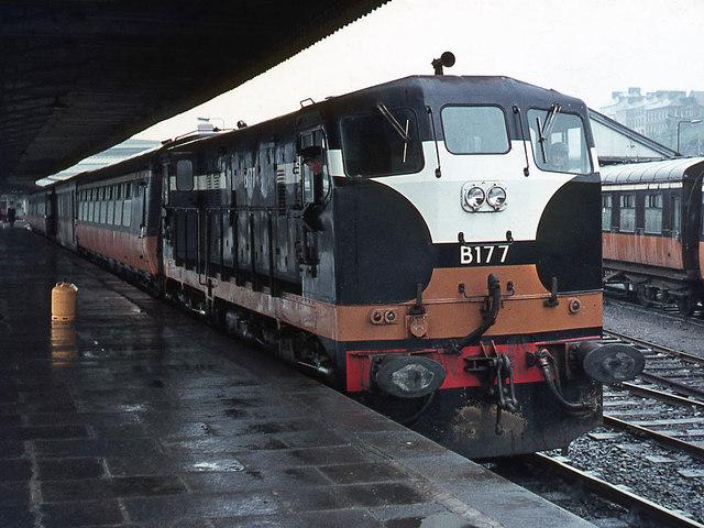 Cork (Kent) station 1971 - 2