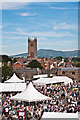 SO5074 : Ludlow Castle - Outer Bailey by Ian Capper