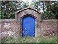 SJ4955 : Old Doorway to Bolesworth Castle by Jeff Buck