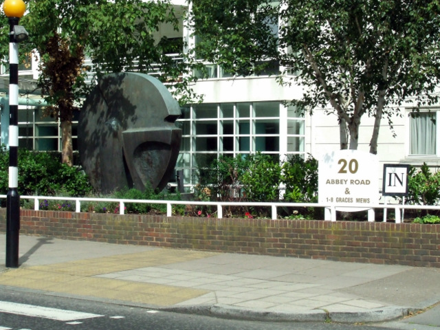 Sculpture on Abbey Road