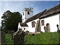 SO3620 : St Cadoc's church, Llangattock Lingoed by David Gearing