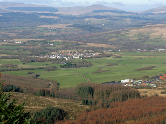 Tower Colliery and Rhigos beyond