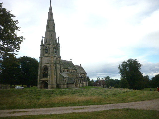 St Mary's Church, Studley Royal