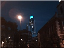 TQ3279 : View of the apartment block tower on Long Lane viewed from Borough High Street by Robert Lamb