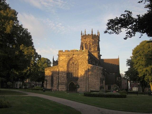 Collegiate Church of St Mary, Stafford