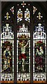 TL9362 : All Saints, Beyton - Stained glass window by John Salmon