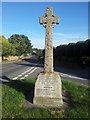 TM3797 : Hales and Heckington War memorial by Helen Steed
