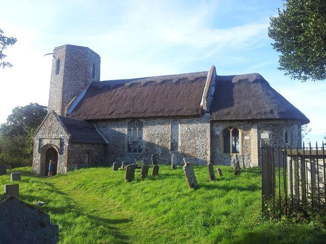 St Gregory's Church. Heckingham