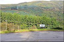 NS1690 : Sligrachan bus terminus by Steven Brown