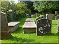 NS2683 : Rhu Parish Churchyard by Lairich Rig