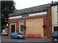TF4322 : Hole in the wall at Barclays Bank, Long Sutton by Richard Humphrey