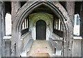 TL7860 : All Saints, Chevington - Porch by John Salmon